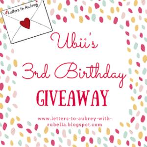 Ubii's 3rd Birthday (1)