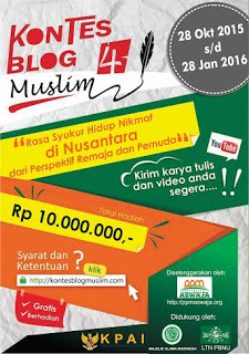 blog contest muslim 2015
