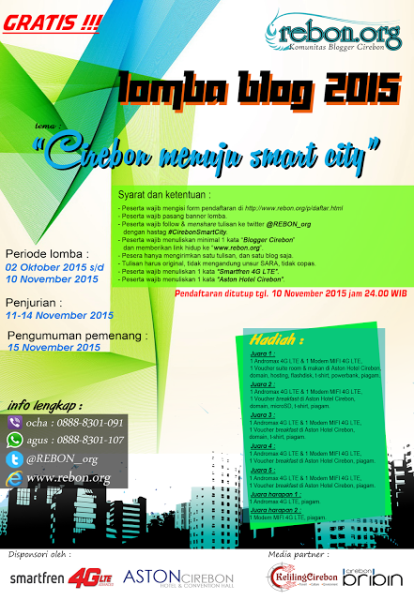 Poster Lomba Blog